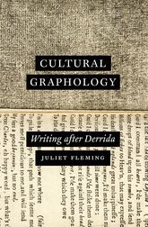 Cultural GraphologyWriting After Derrida